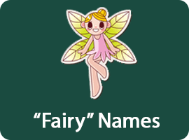 a full list of names that mean fairy.